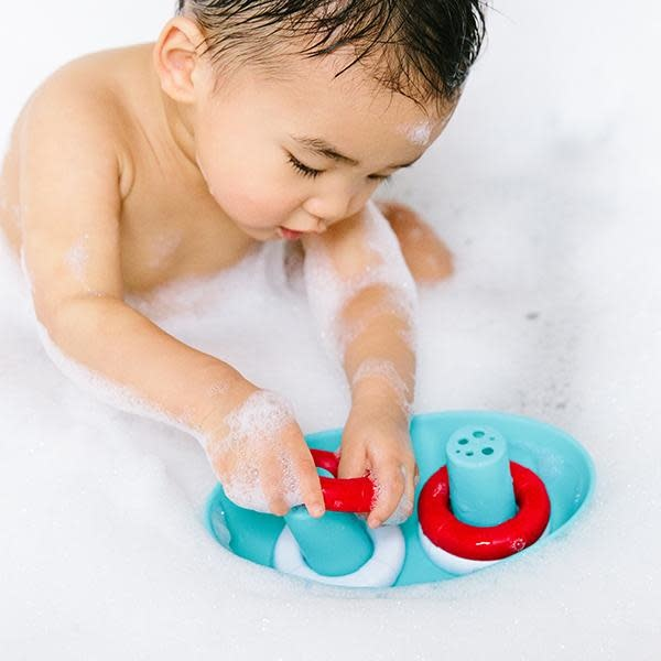 Ubbi world Boat and Buoys Bath Toys