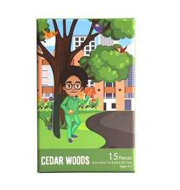 Puzzle and Bloom Cedar Woods (15 Piece Puzzle)