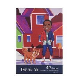 Puzzle and Bloom David Ali Puzzle (42 Piece Puzzle)