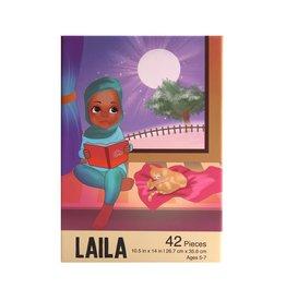 Puzzle and Bloom The Laila Puzzle (42 Piece Puzzle)
