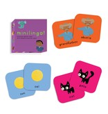 Worldwide Buddies Minilingo, Spanish/English Card Game
