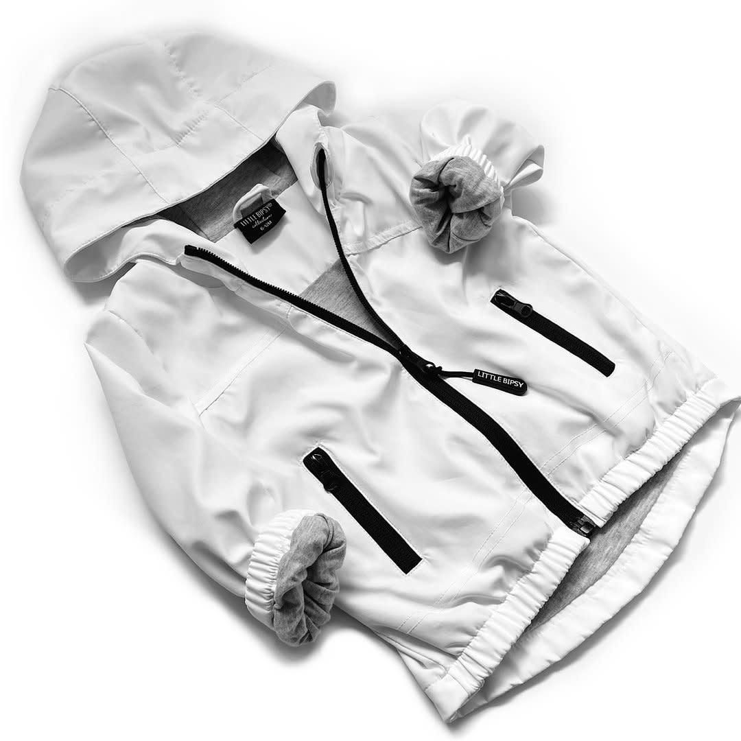 Little Bipsy LB Windbreaker- White