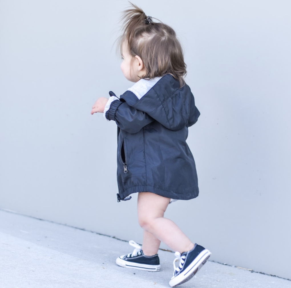 Little Bipsy LB Windbreaker- Black