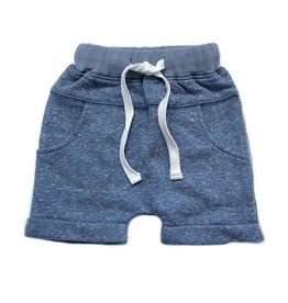 Little Bipsy LB Washed Harem Shorts- Navy