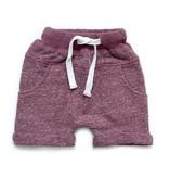 Little Bipsy LB Washed Harem Shorts- Plum