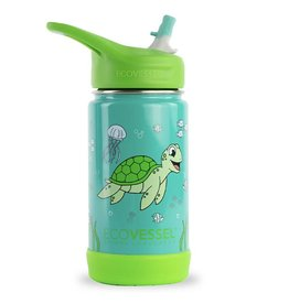 12oz Insulated Stainless Steel Flip Top Bottle (more patterns)