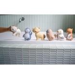 Tikiri Toys Natural Rubber Toy- Arctic Polar Bear