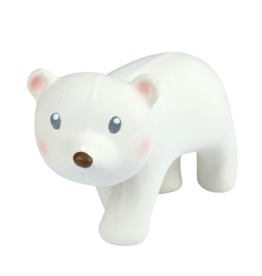 Tikiri Toys Natural Rubber Toy- Arctic Polar Bear