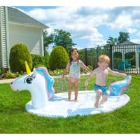 Good Banana Unicorn Splash Pad Sprinkler with Pool