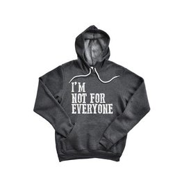 Wildberry Waves I'm Not for Everyone Hoodie- Unisex