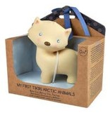 Tikiri Toys Natural Rubber Toy- Arctic Fox