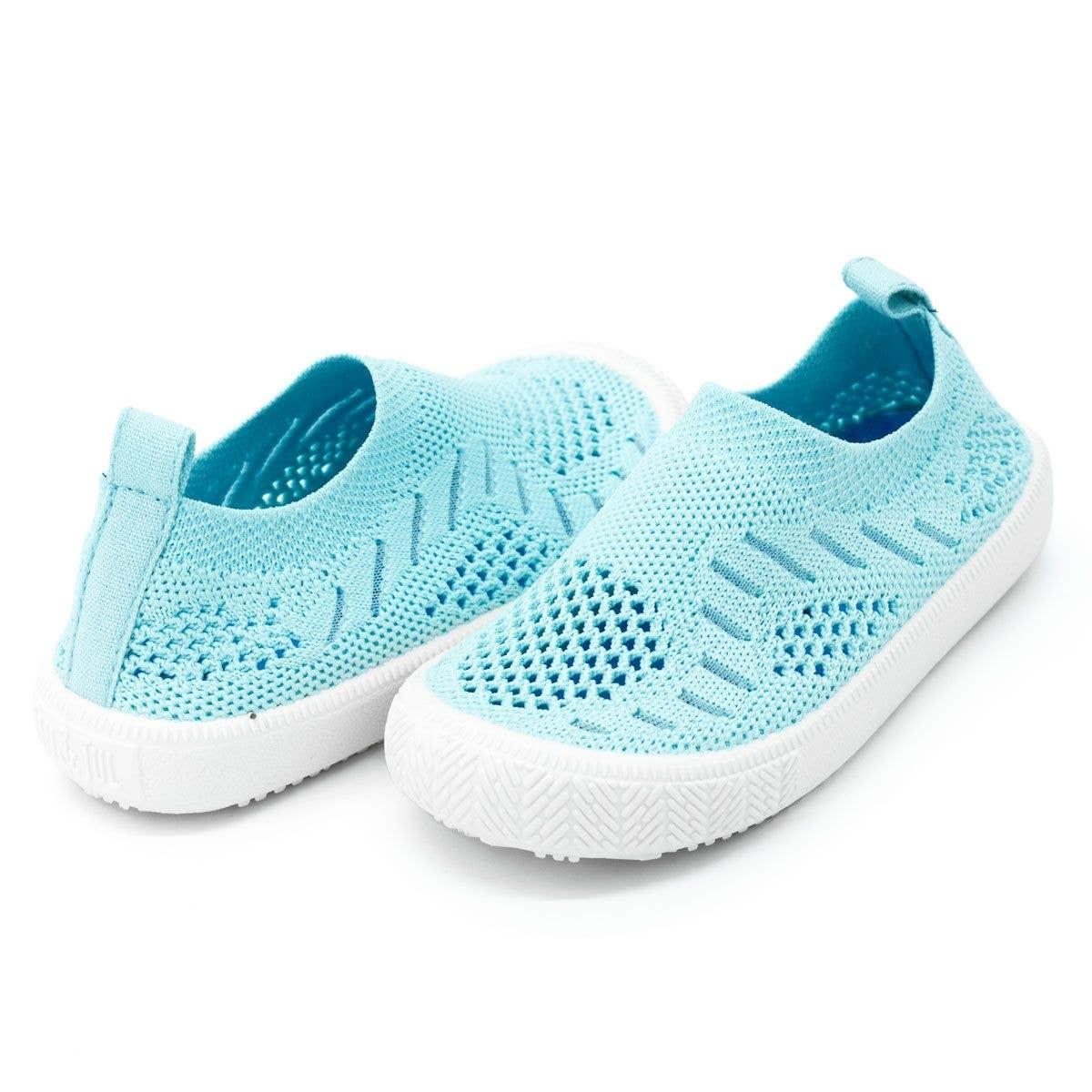 Jan & Jul Kids Breeze Knit Shoe Mint