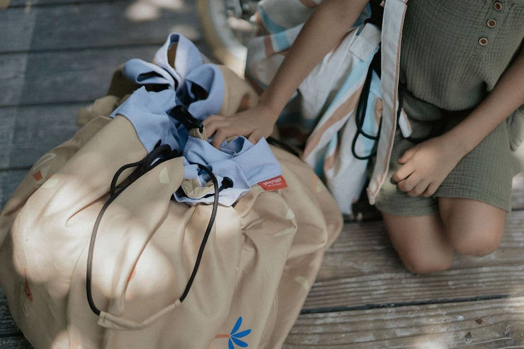 Play & Go Outdoor beach storage bag Sea