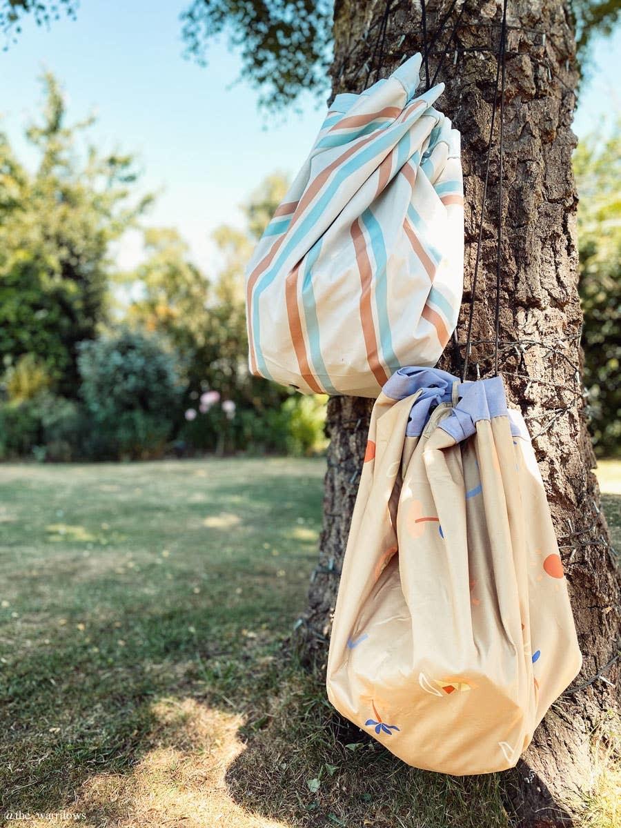 Play & Go Outdoor beach storage bag Stripes