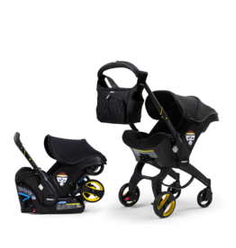 Doona Doona Infant Car Seat + Stroller- Midnight Edition