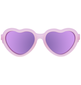 Babiators Heartshaped Polarized with Mirrored Lenses