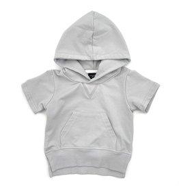 Little Bipsy LB Short Sleeve Hoodie Frost