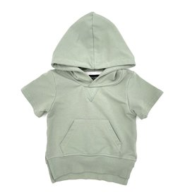 Little Bipsy LB Short Sleeve Hoodie Fern