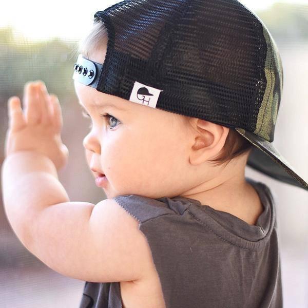 George Hats Camo Trucker - HipBabyGear 62e29af07c4