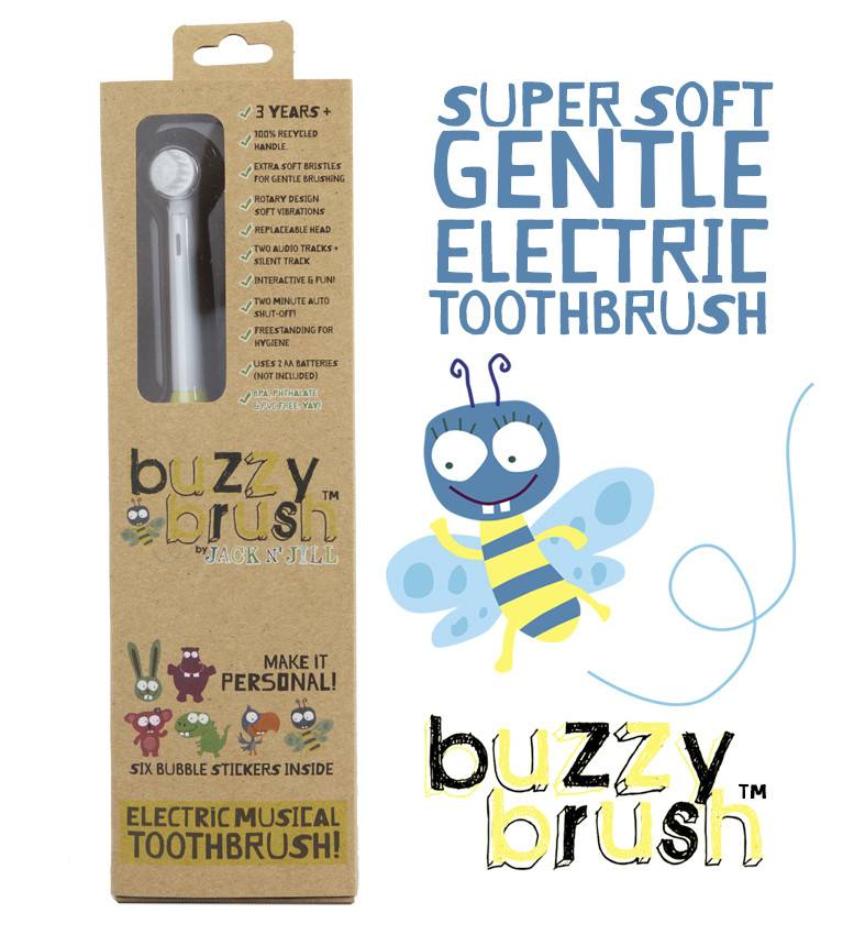 Jack N Jill Buzzy Brush Electric Musical Toothbrush