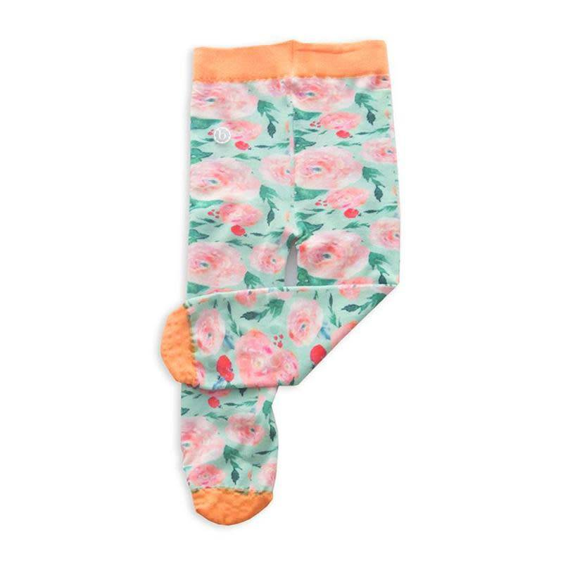 Baby Bling Printed Tights- Watercolor Floral