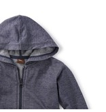 Tea Collection Denim Like Baby Zip Hoodie