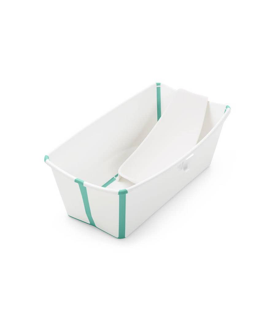 Stokke Flexi Bath Bundle Tub with Support, Heat Sensitive Plug
