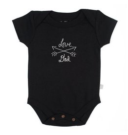 Finn + Emma Love Dad Bodysuit