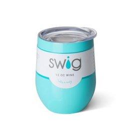 Swig Life 12oz Stemless Wine Cup- Ocean