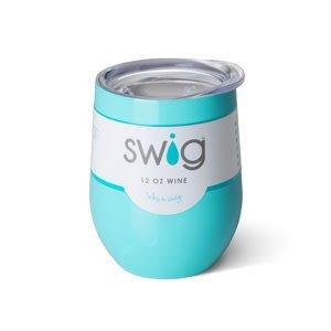 Swig 12oz Stemless Wine Cup- Ocean