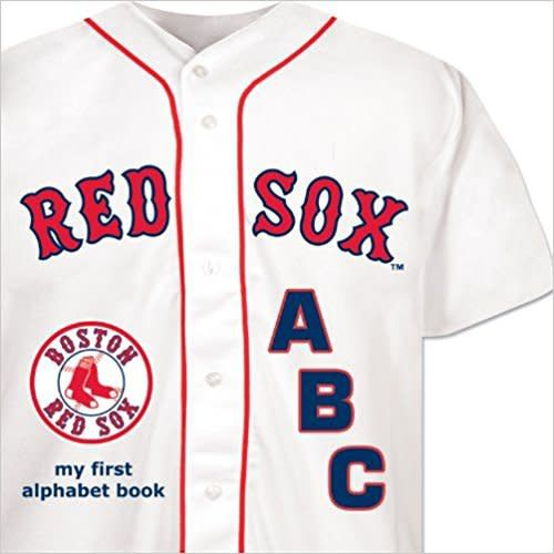 My First Alphabet Book Boston Red Sox