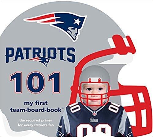 My First Team Board Book NE Patriots