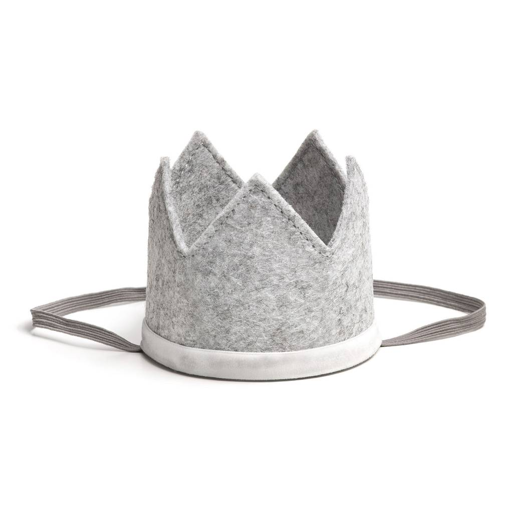 Sweet Wink Gray/White Crown