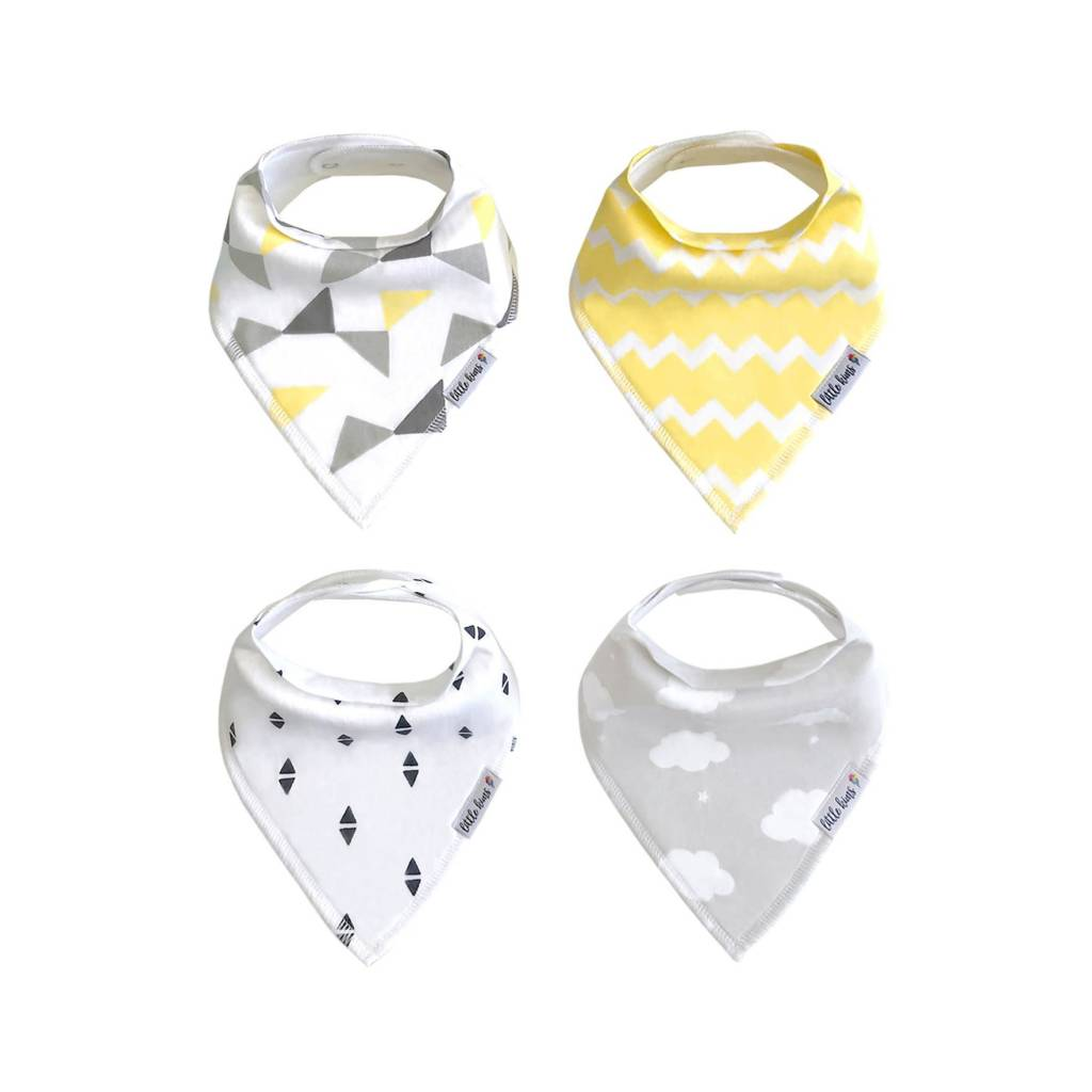 Little Kims Sweet Dreams Organic Bandana Bibs