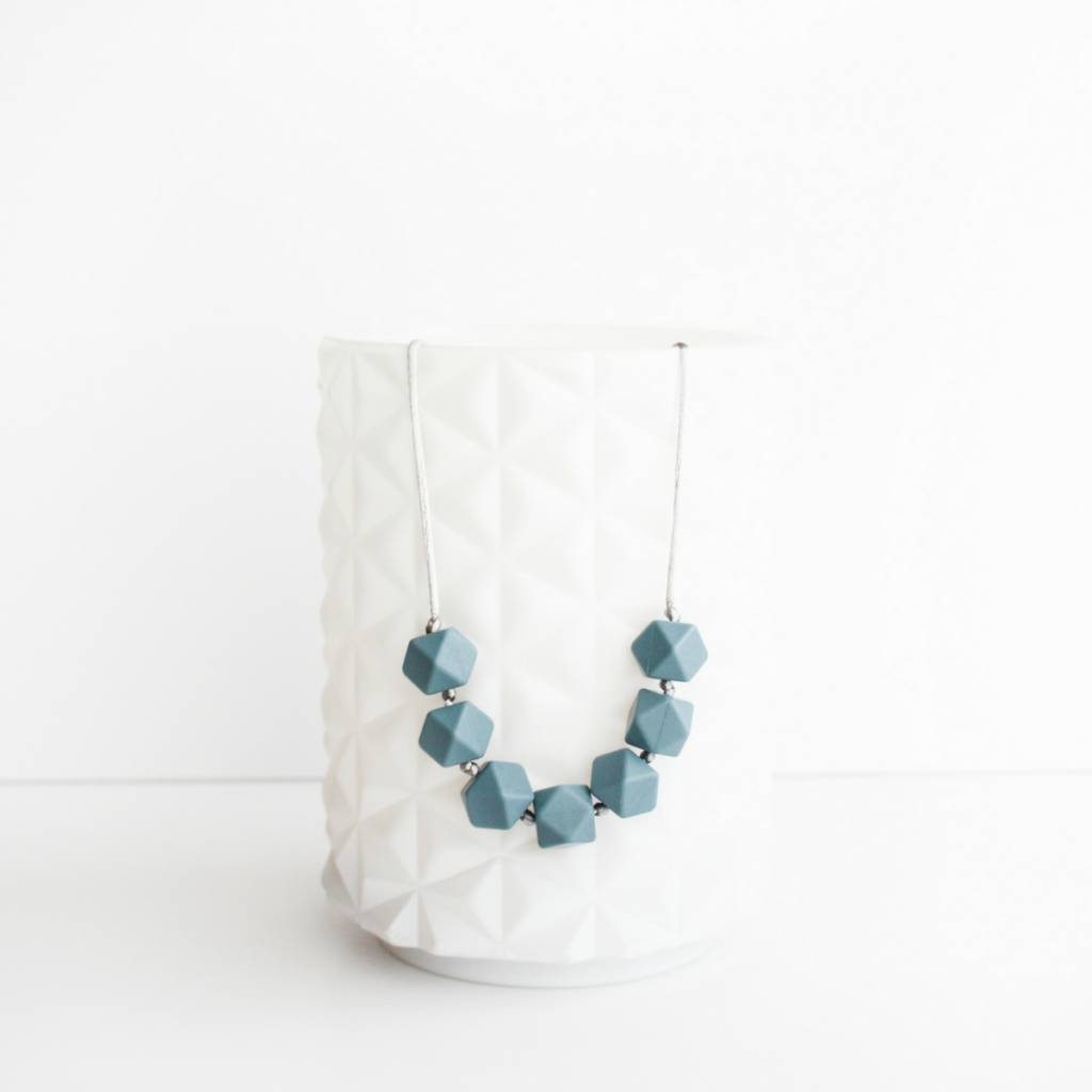 Little Teether Geo Teething Necklace
