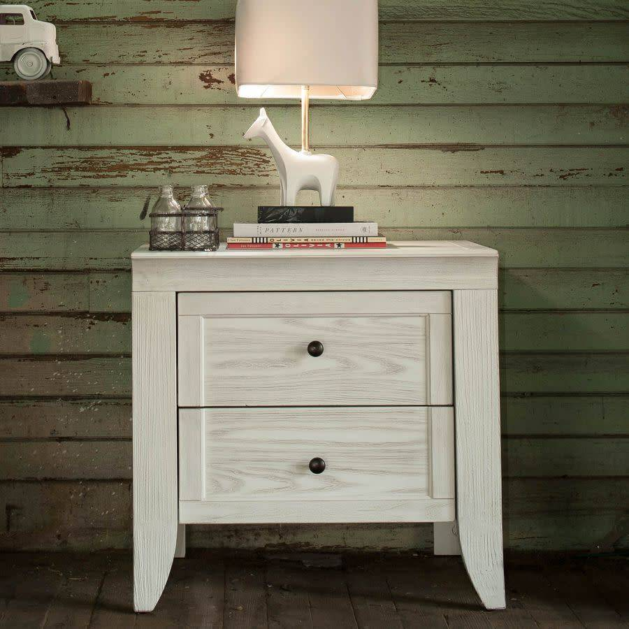 Milk Street Baby Cameo 2 Drawer Nightstand