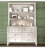 Milk Street Baby Cameo Hutch/Bookcase