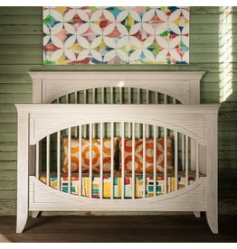Milk Street Baby Cameo Oval Convertible Crib