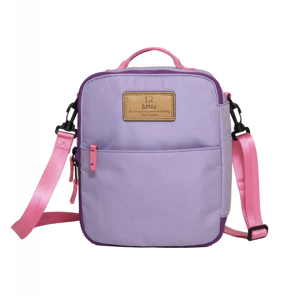 TWELVElittle Adventure Lunch Bag- Lilac