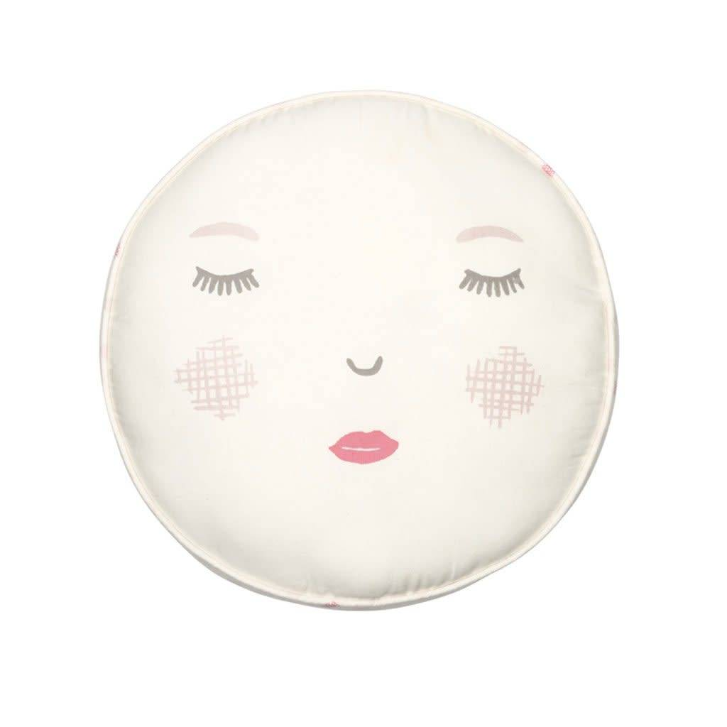Pehr Designs Peek-A-Boo Reversible Pillow- Pink