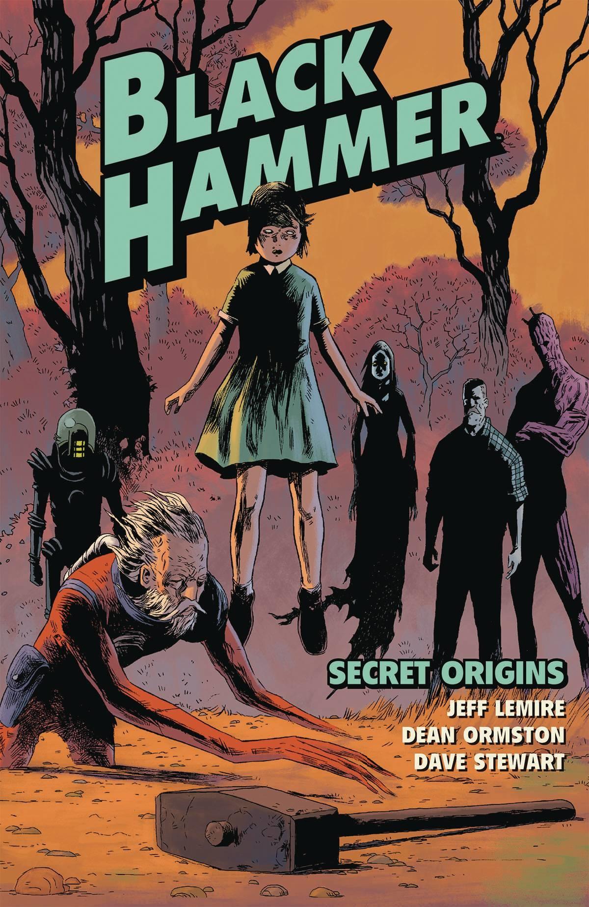 Black Hammer v.1: Secret Origins