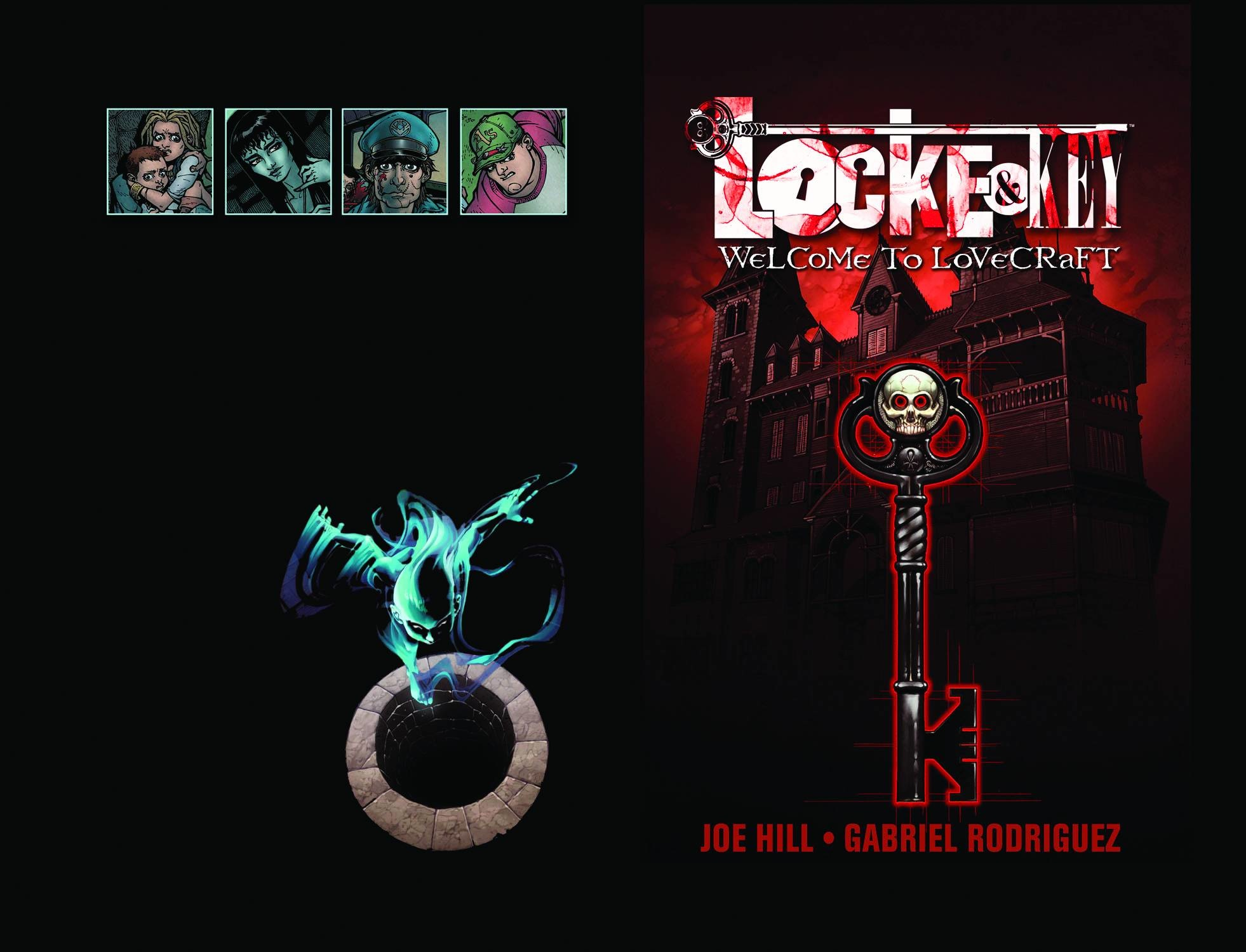 Locke & Key v.1: Welcome to Lovecraft