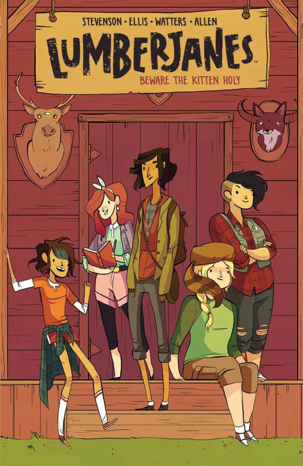 Lumberjanes v.1: Beware The Kitchen Holy