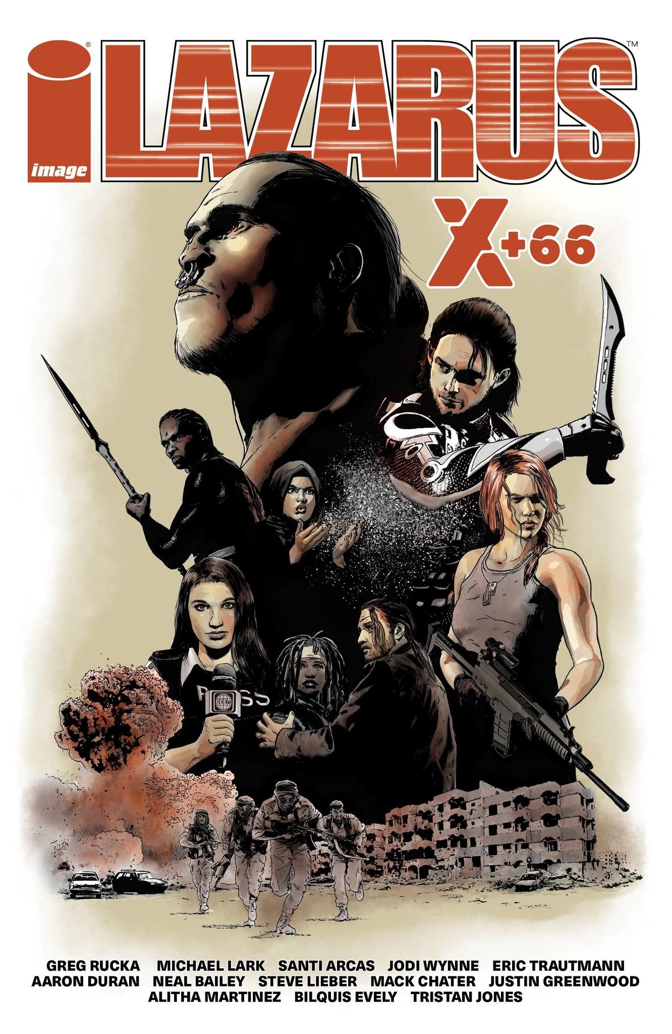 Lazarus: X + 66