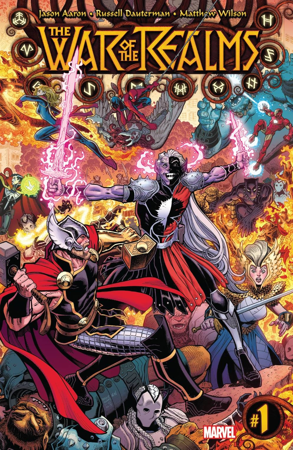 War of the Realms #1-#6 + Omega