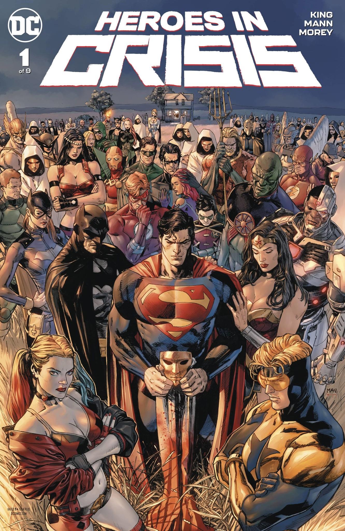 Heroes in Crisis #1-#9