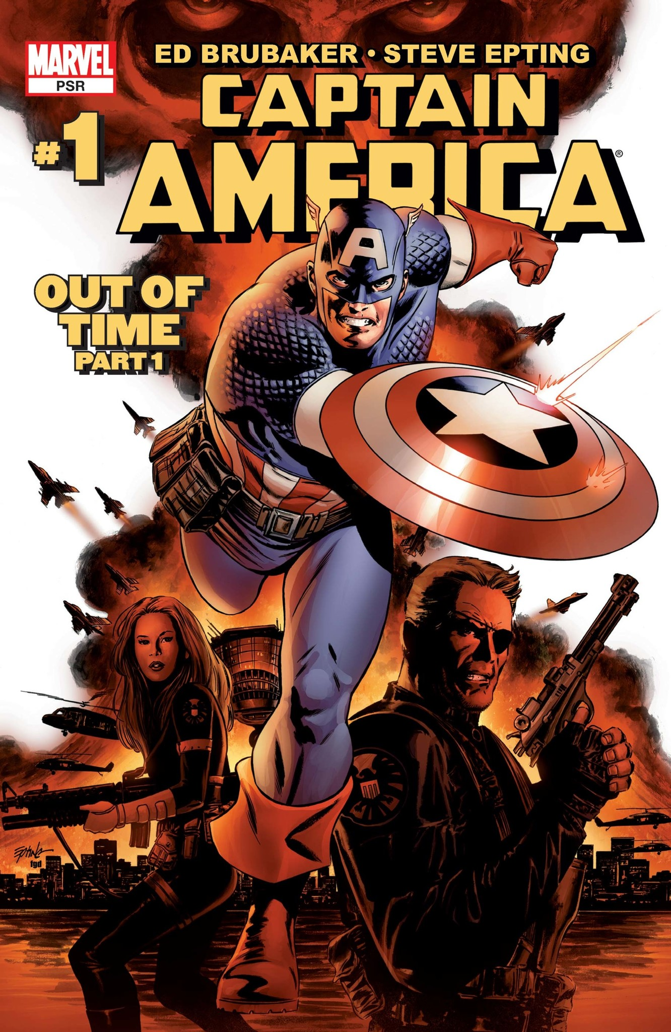 Captain America #1-#8 (2004 5th Series)