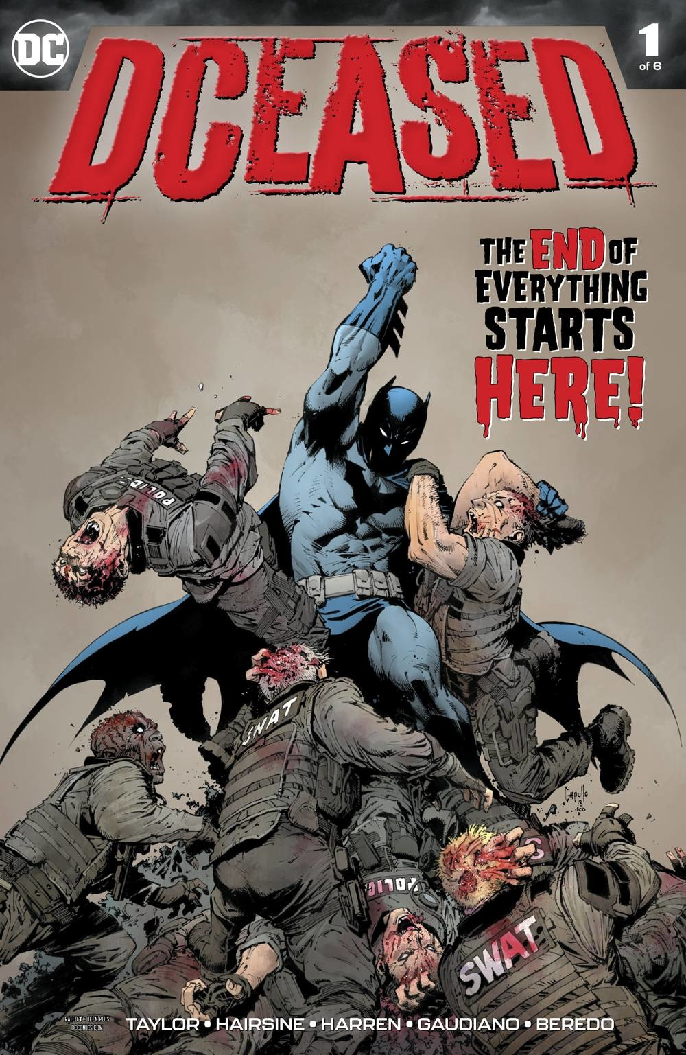 Dceased #1-#6 + Dceased: A Good Day to Die