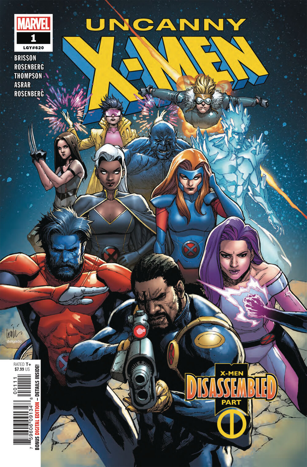 Uncanny X-Men #1-#10 (2018 5th Series)
