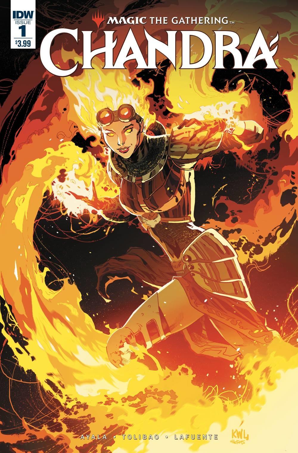 IDW Magic the Gathering Chandra #1-#4